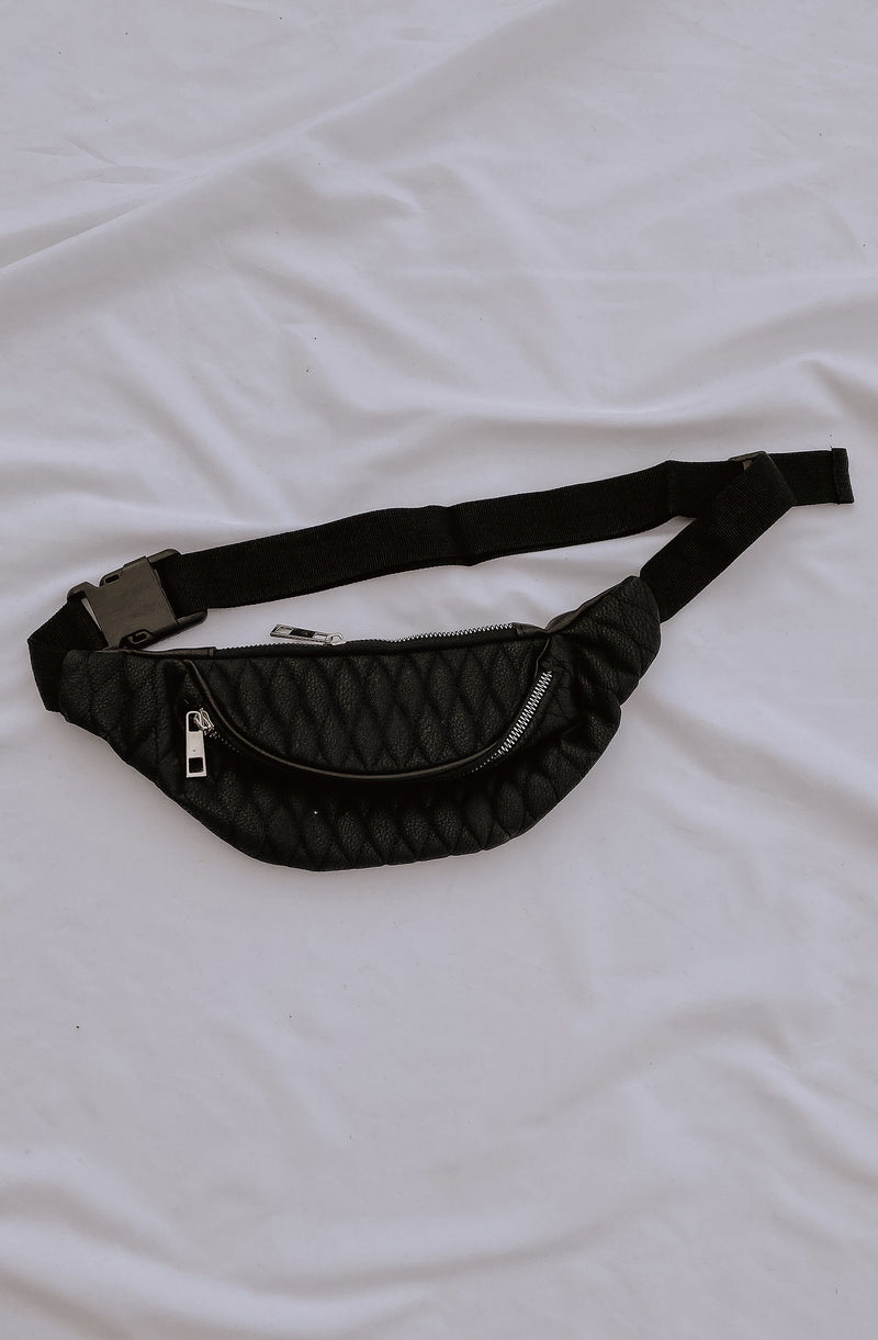QUILTY PLEASURE QUILTED FANNY PACK