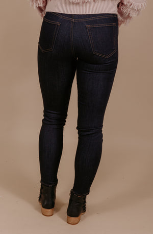 RISE UP HIGH RISE SKINNY JEANS