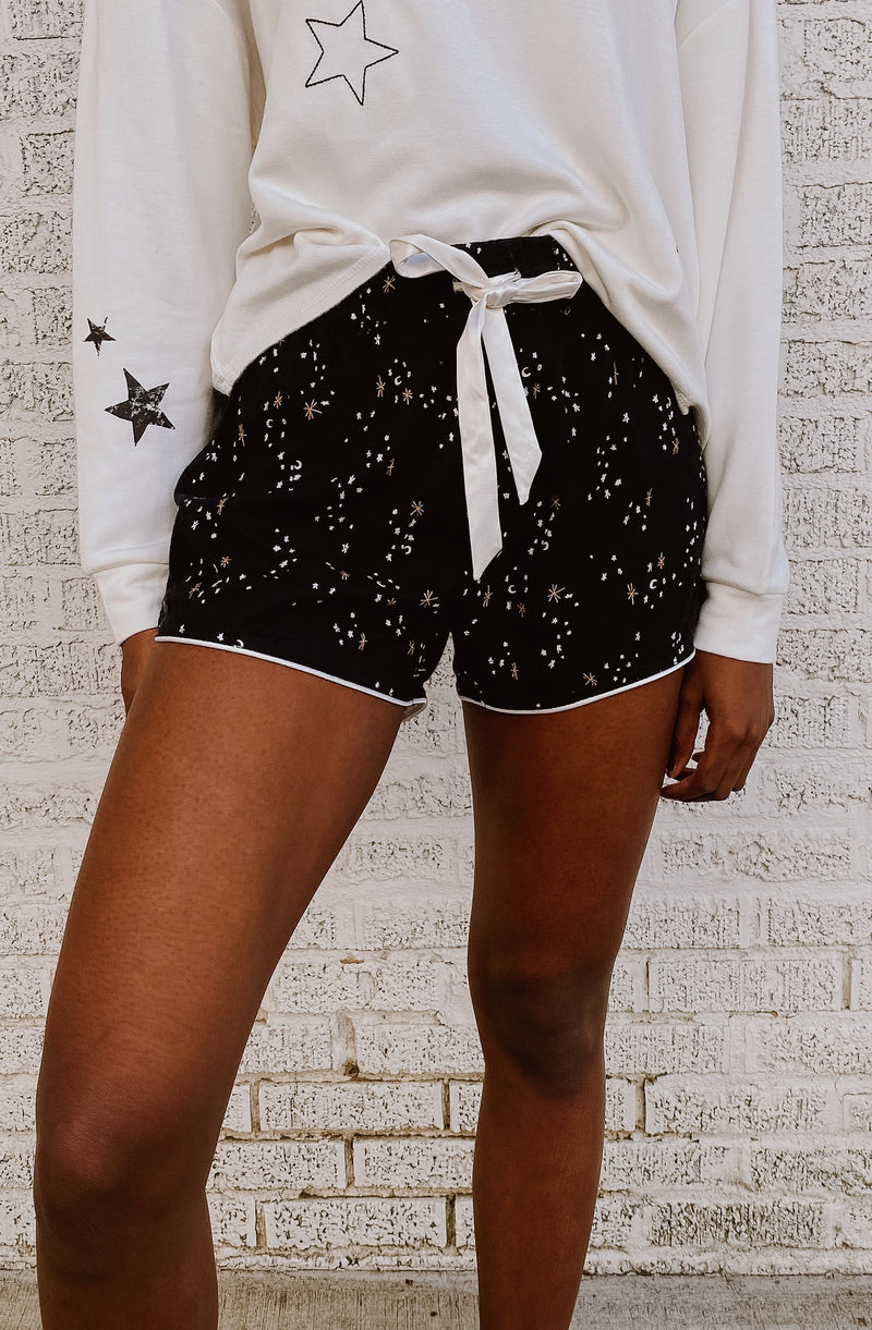 Z SUPPLY SWEET TALKER GALAXY SHORTS