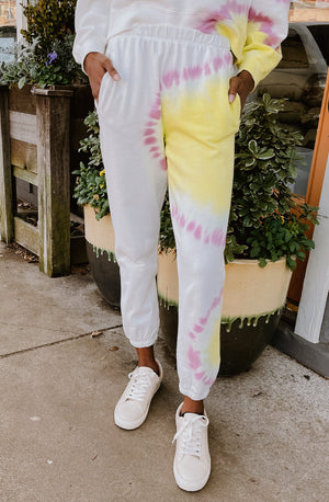 Z SUPPLY SUNBURST TIE DYE JOGGER