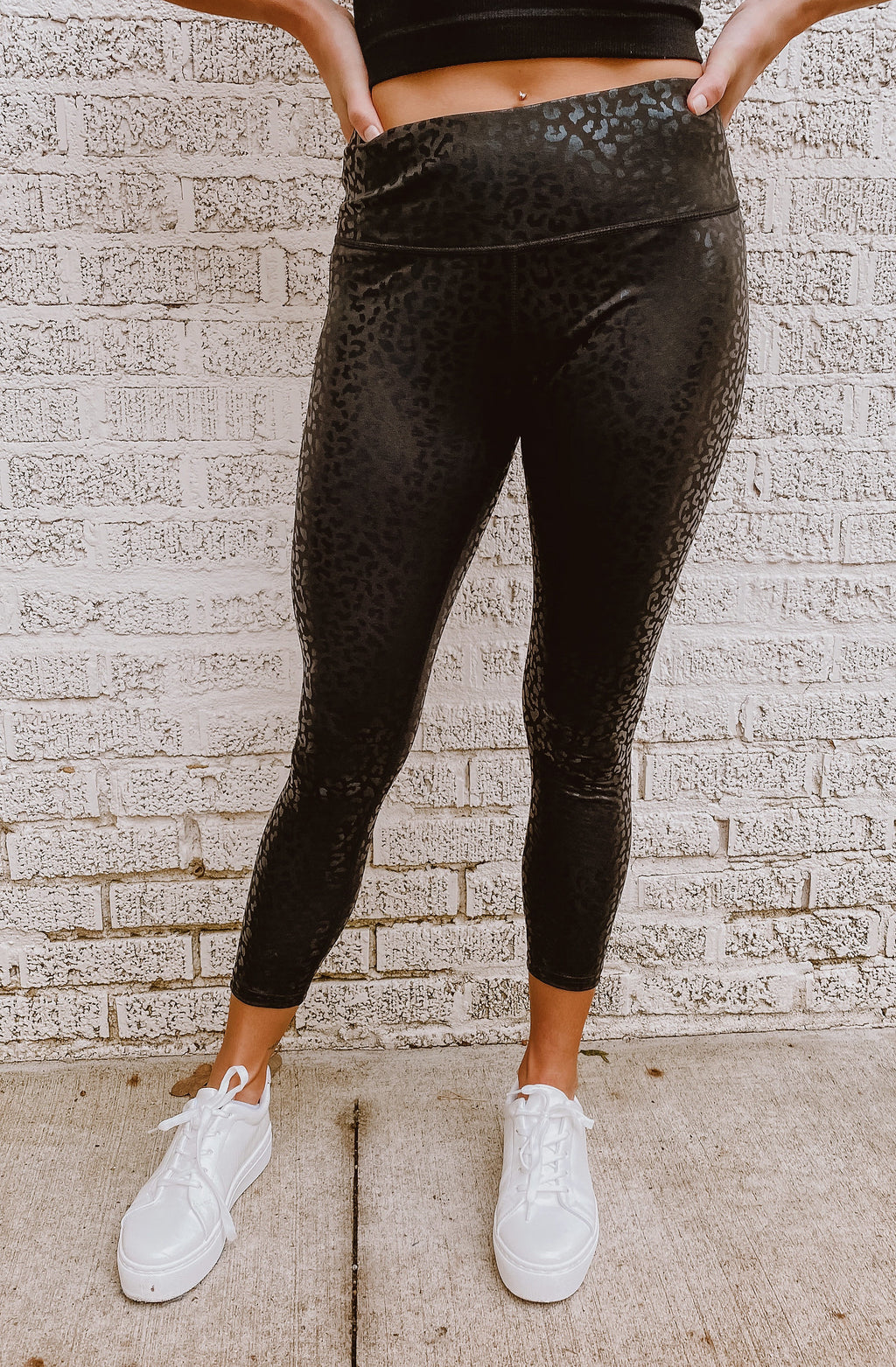 DON'T GLOSS OVER IT LEOPARD LEGGINGS