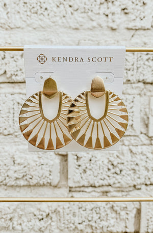 KENDRA SCOTT DIDI SUNBURST DROP EARRING