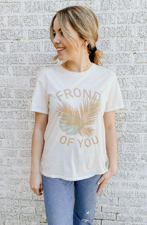 AMUSE SOCIETY FROND OF YOU GRAPHIC TEE