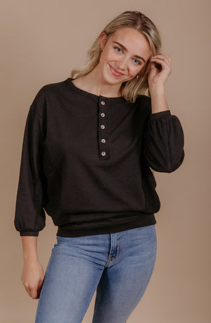 LE BOUTON PULLOVER