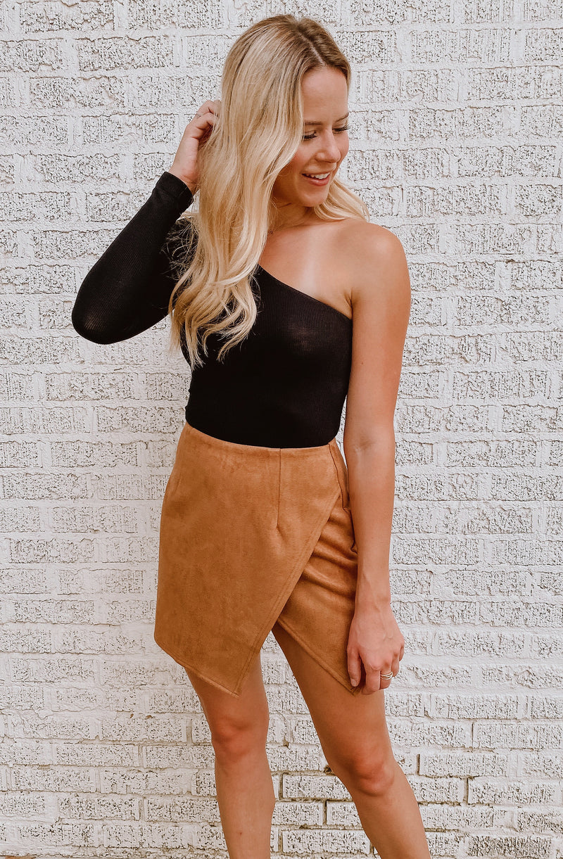 YOU SUEDE ME SKIRT