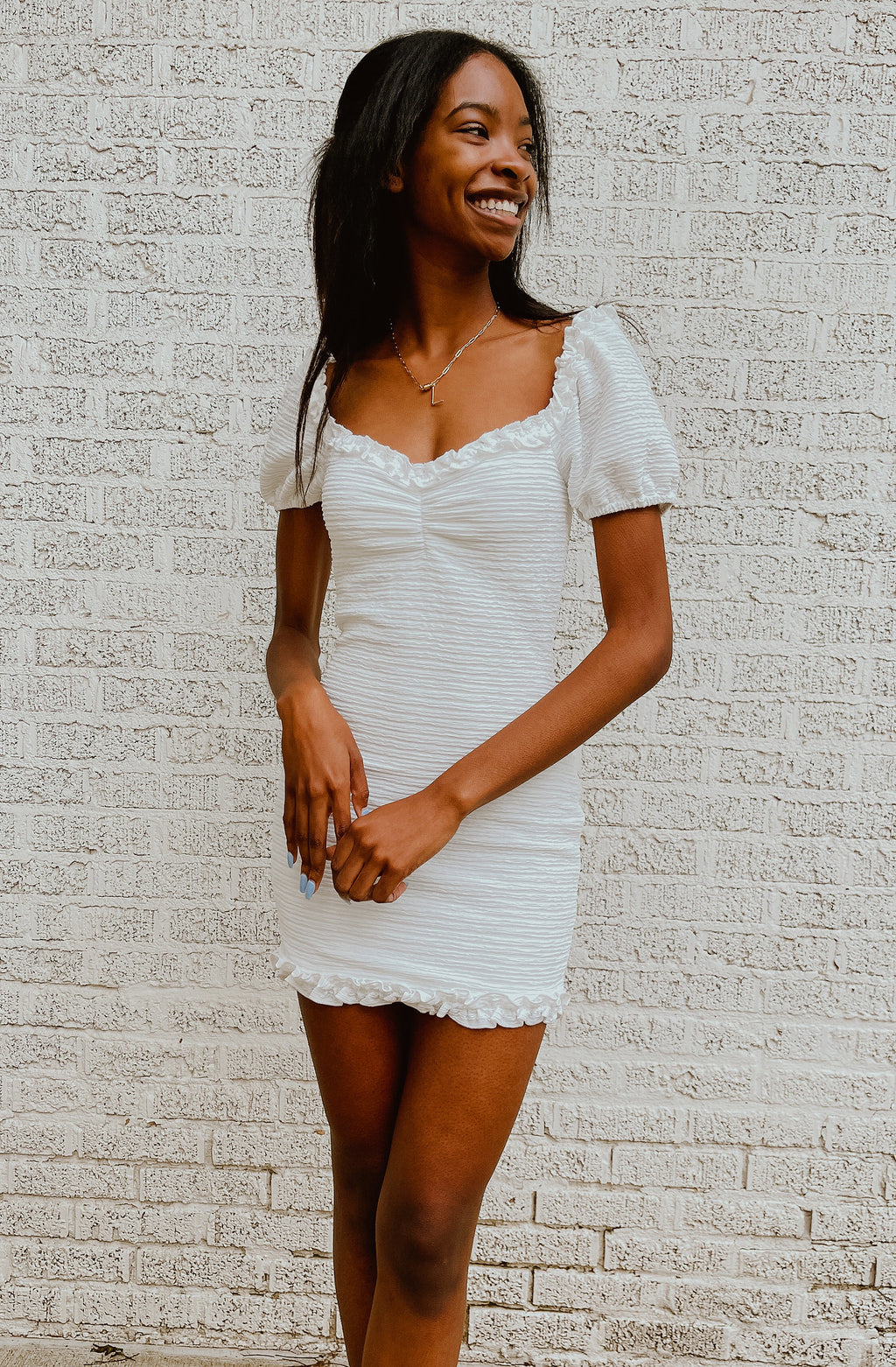 SWEET CAROLINE MINI DRESS