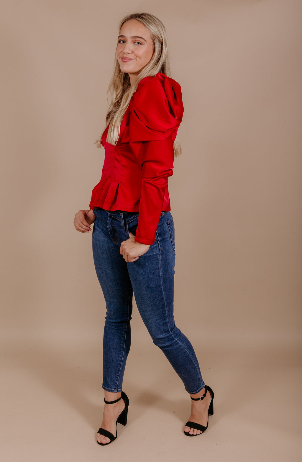 HIGH FASHION HONEY BLOUSE