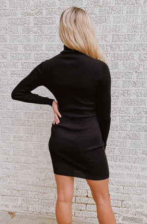 C'EST CHELSEA SWEATER DRESS
