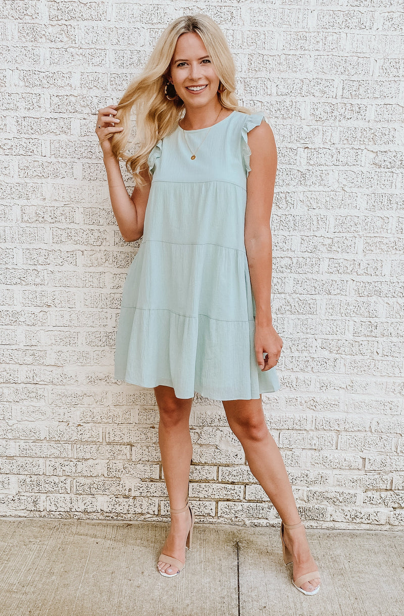 MINT TO BE MINI DRESS