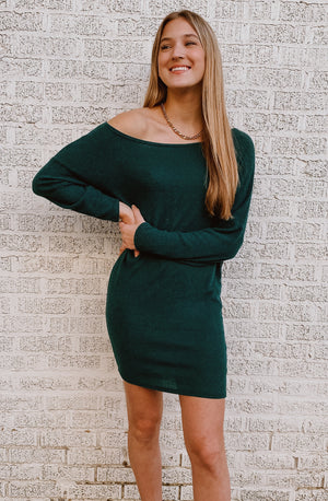 SCENIC ROUTE SWEATER DRESS