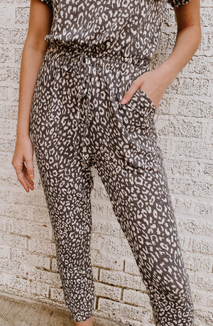 JUMP TO IT JUMPSUIT