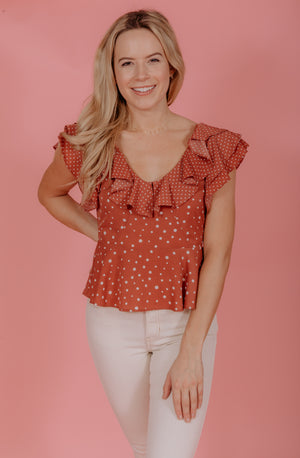 THE MACEY BLOUSE