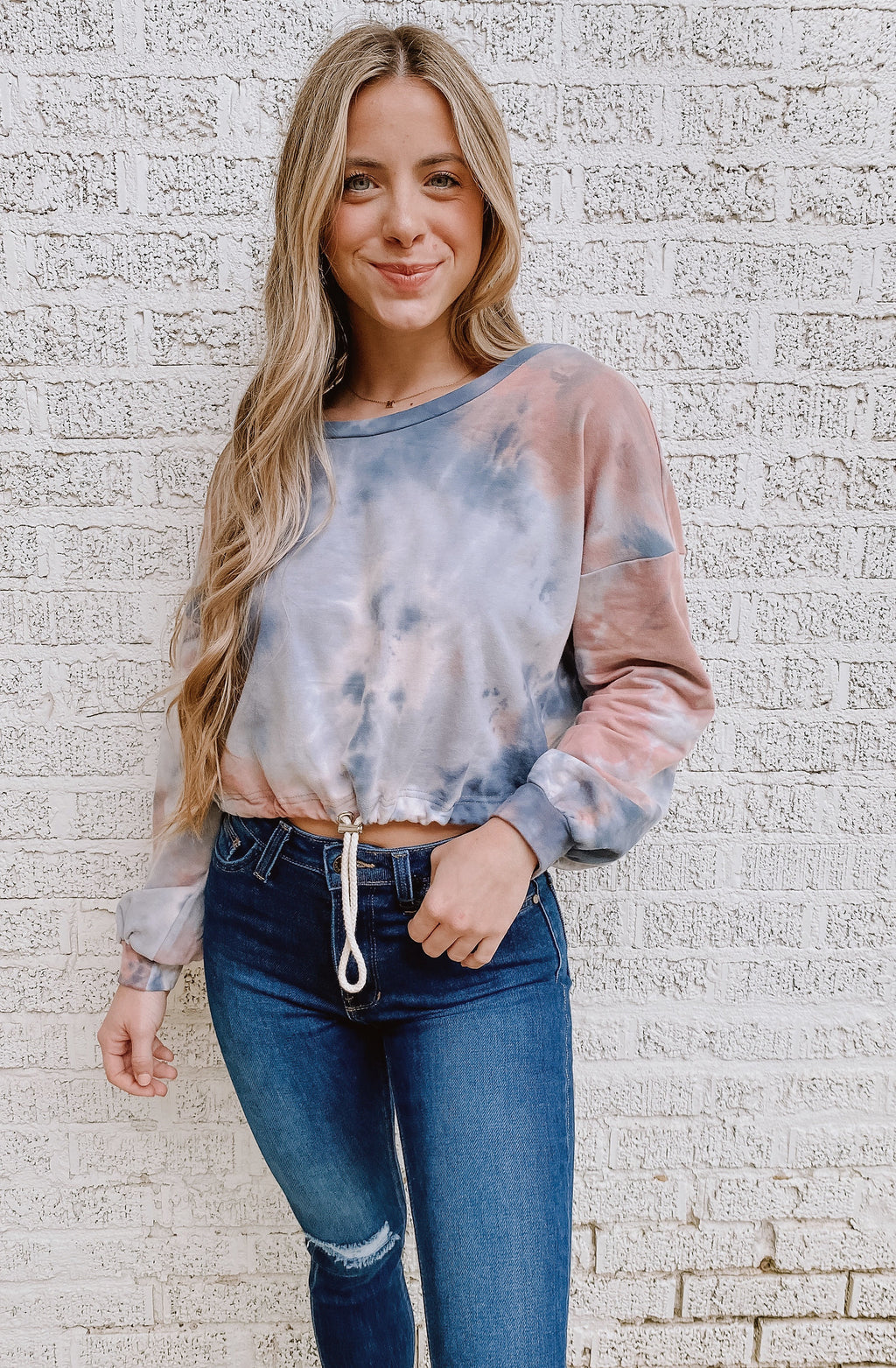 CLOUD POP TIE DYE SWEATSHIRT