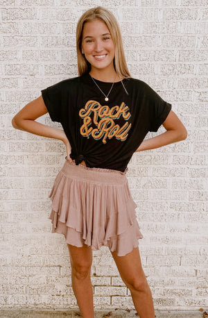 IT'S TIME TO ROCK & ROLL GRAPHIC TEE