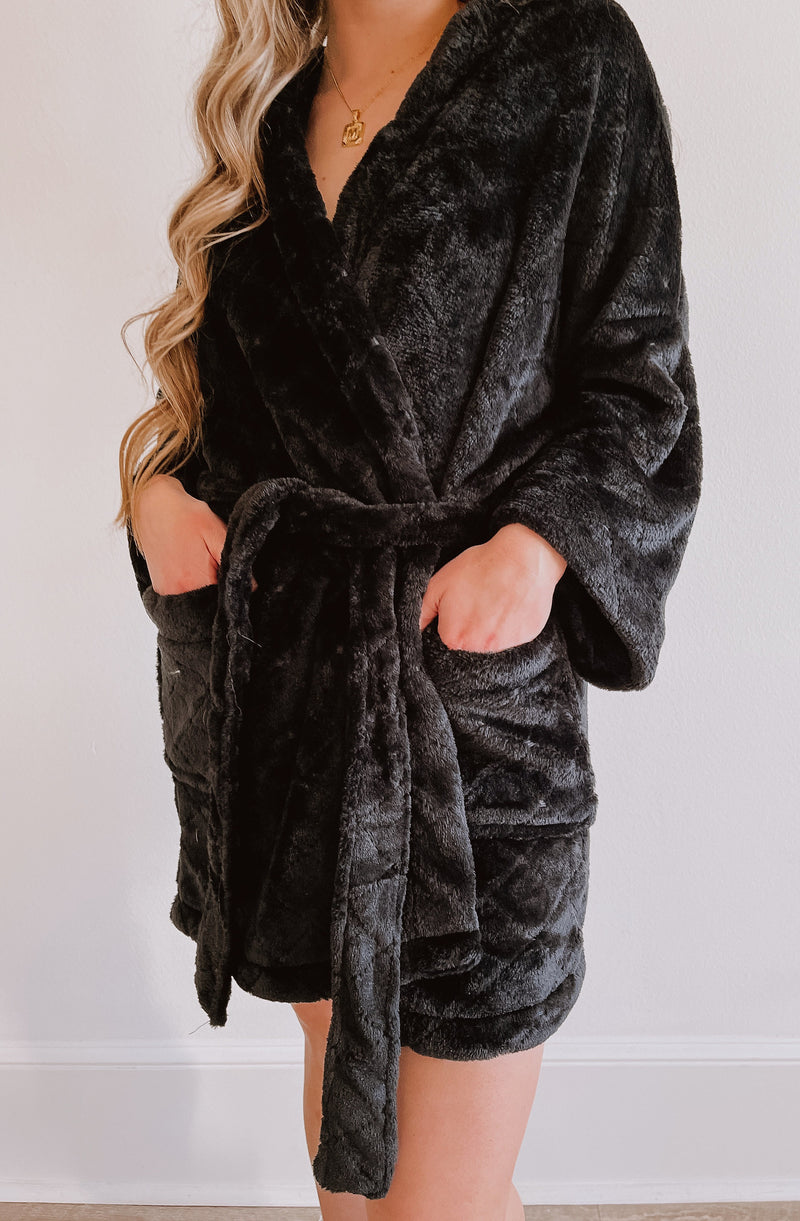 Z SUPPLY LUXE QUILTED KIMONO ROBE
