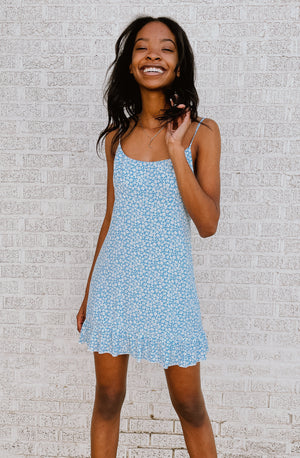 IN A DAZE FLORAL DAY DRESS