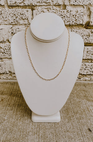 SHAYA SKINNY CHAIN NECKLACE