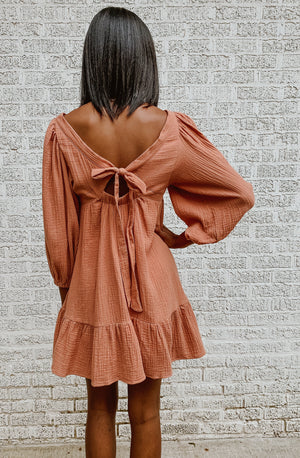 SQUARED AWAY MINI DRESS