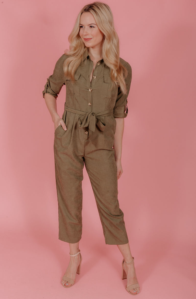 JUMP THE GUN JUMPSUIT