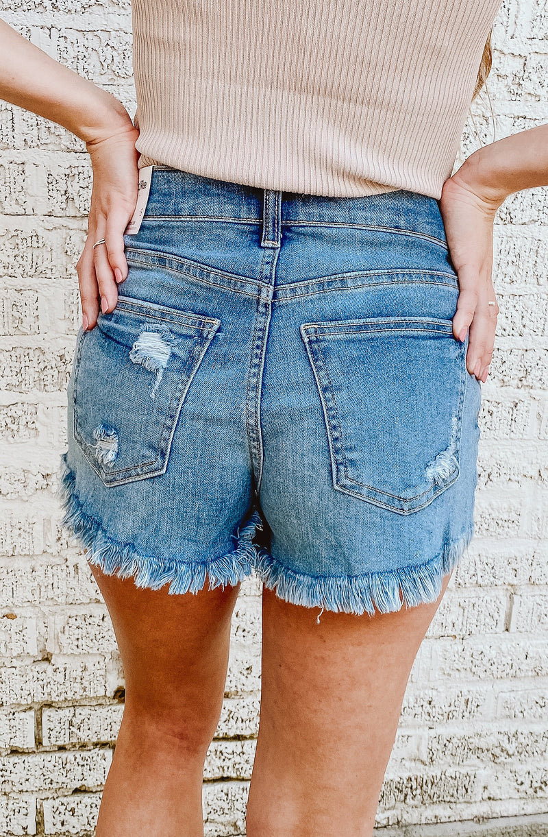 MAKE WAVES MID RISE SHORT