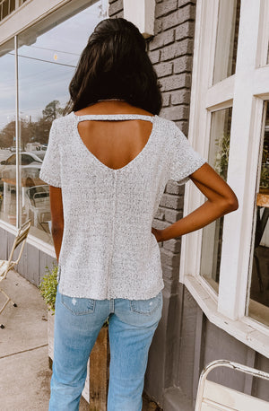KNIT THE WAY TOP