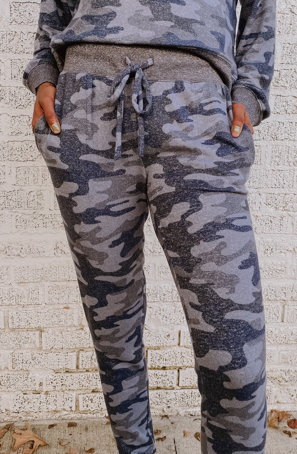 Z SUPPLY MINA CAMO MARLED JOGGER