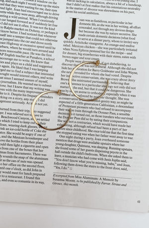 HALF MOON SMOOTH HOOP EARRING