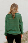 KNIT YOUR AVERAGE SWEATER IN SAGE