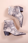 WALK THIS WAY BOOTIES IN SNAKE