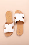 SUMMER IN THE SUN SANDAL WHITE