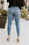 ERIN'S FAVORITE HIGH RISE DENIM IN MEDIUM WASH
