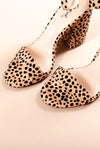 STEPPING OUT HEEL IN LEOPARD