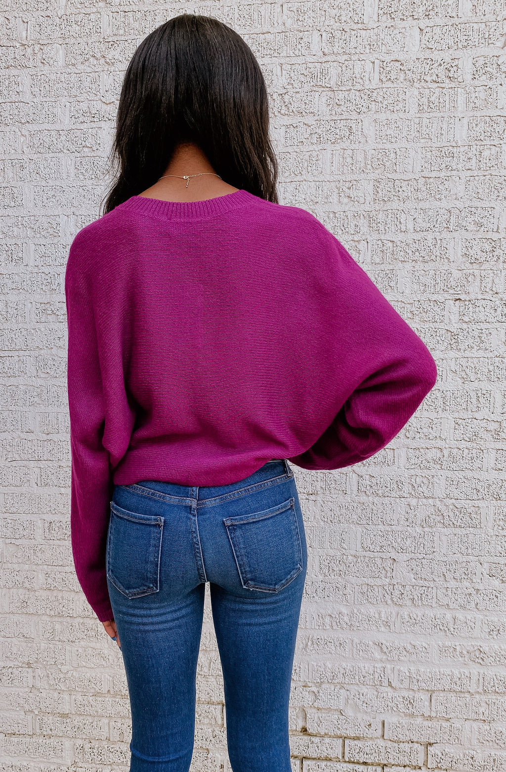 ORCHID BLOSSOM SWEATER