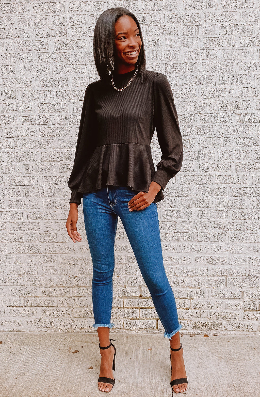 PEP IT UP PEPLUM TOP