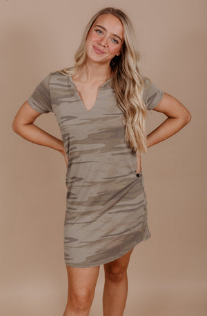 Z SUPPLY ALL THINGS CAMO DRESS