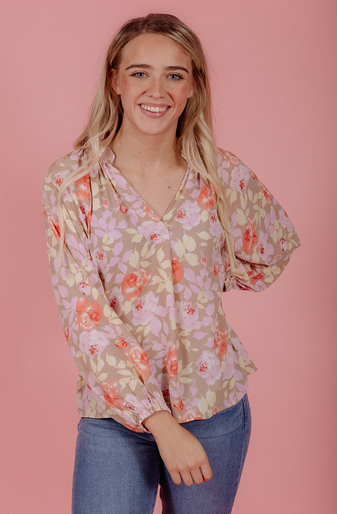 THE BLOSSOM BLOUSE