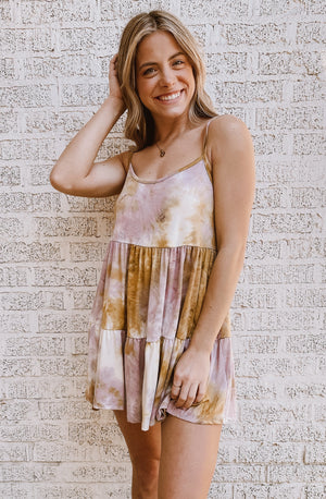 DOLLY TIE DYED DRESS