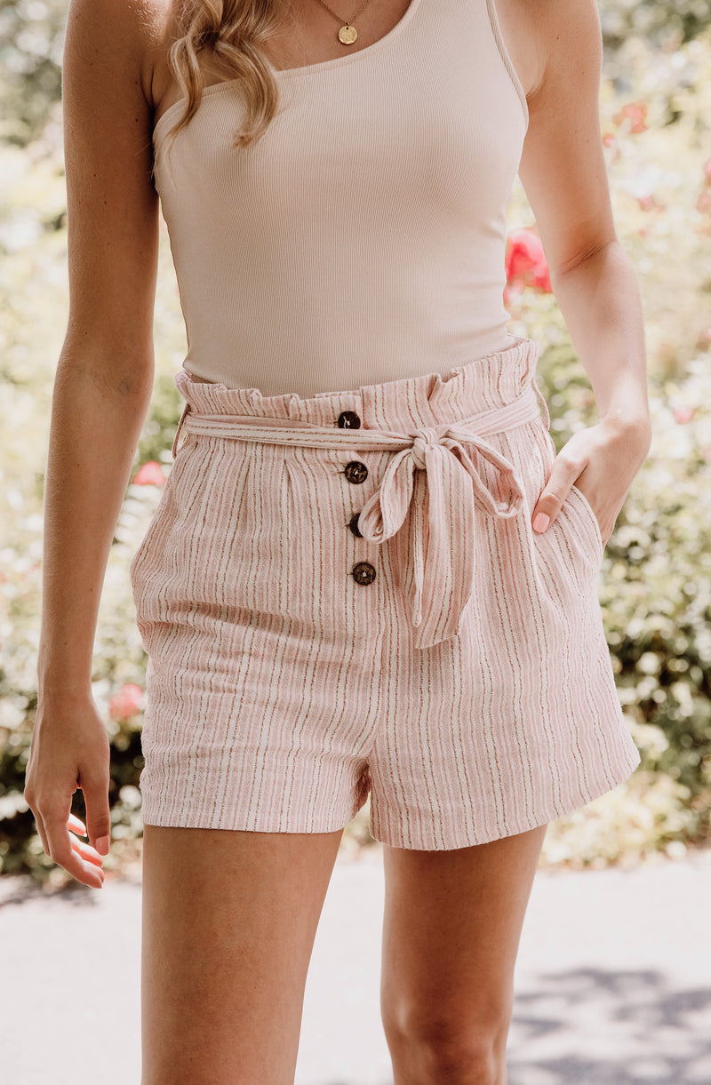 MINK PINK HEY YOU SHORTS