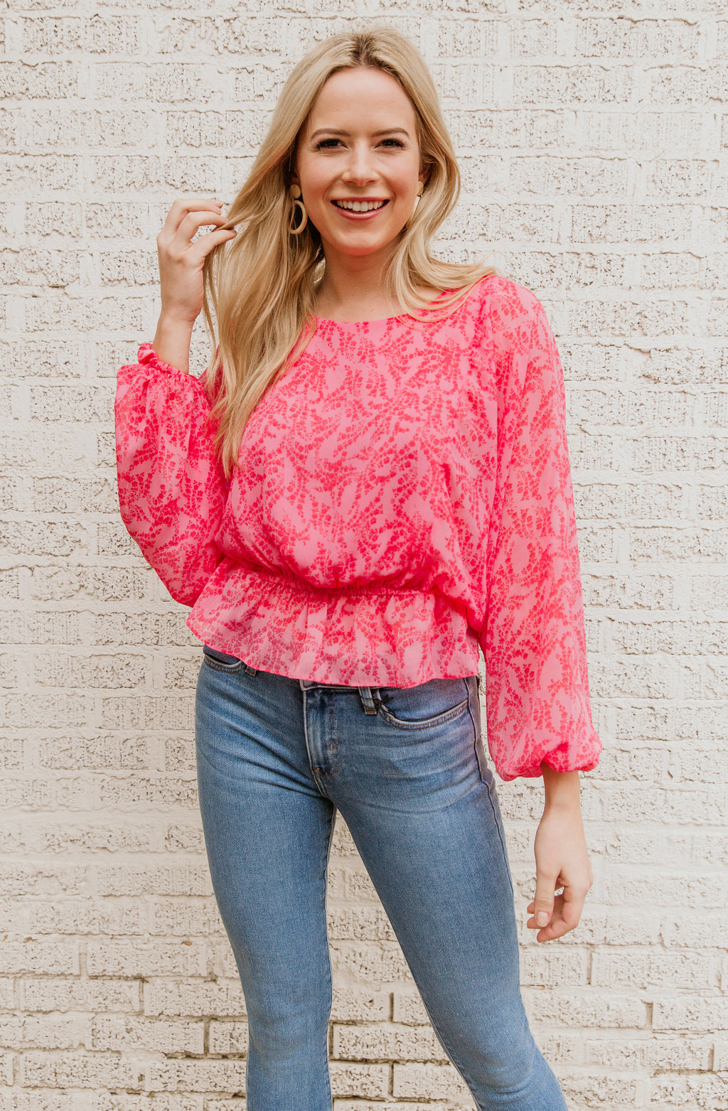 SPRING QUEEN BLOUSE