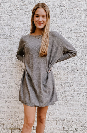 LAKE TRIP SWEATER DRESS