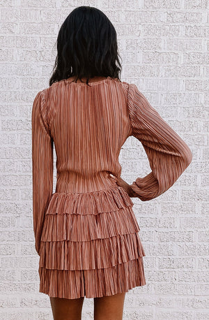 PLEAT DON'T STOP ME NOW SKIRT
