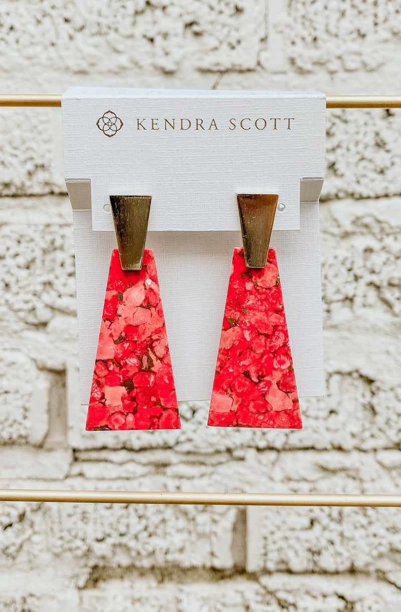 KENDRA SCOTT COLLINS LARGE DROP EARRING