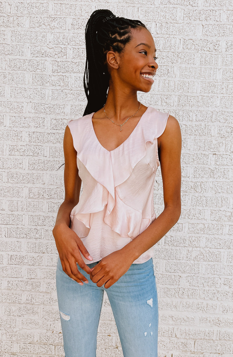 BLUSH CRUSH BLOUSE