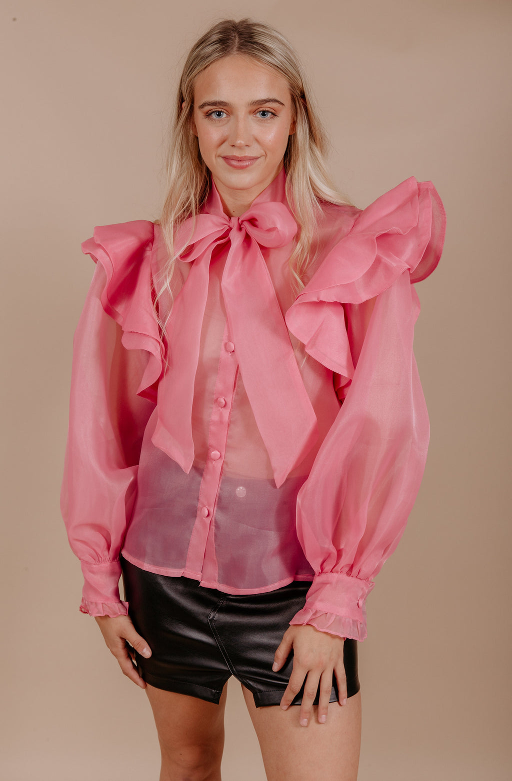 SHEER BLISS BLOUSE