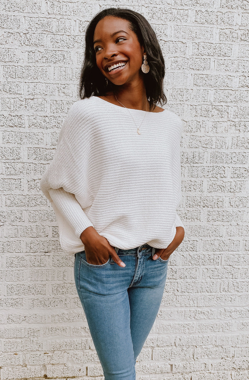 COZY COCOON SWEATER
