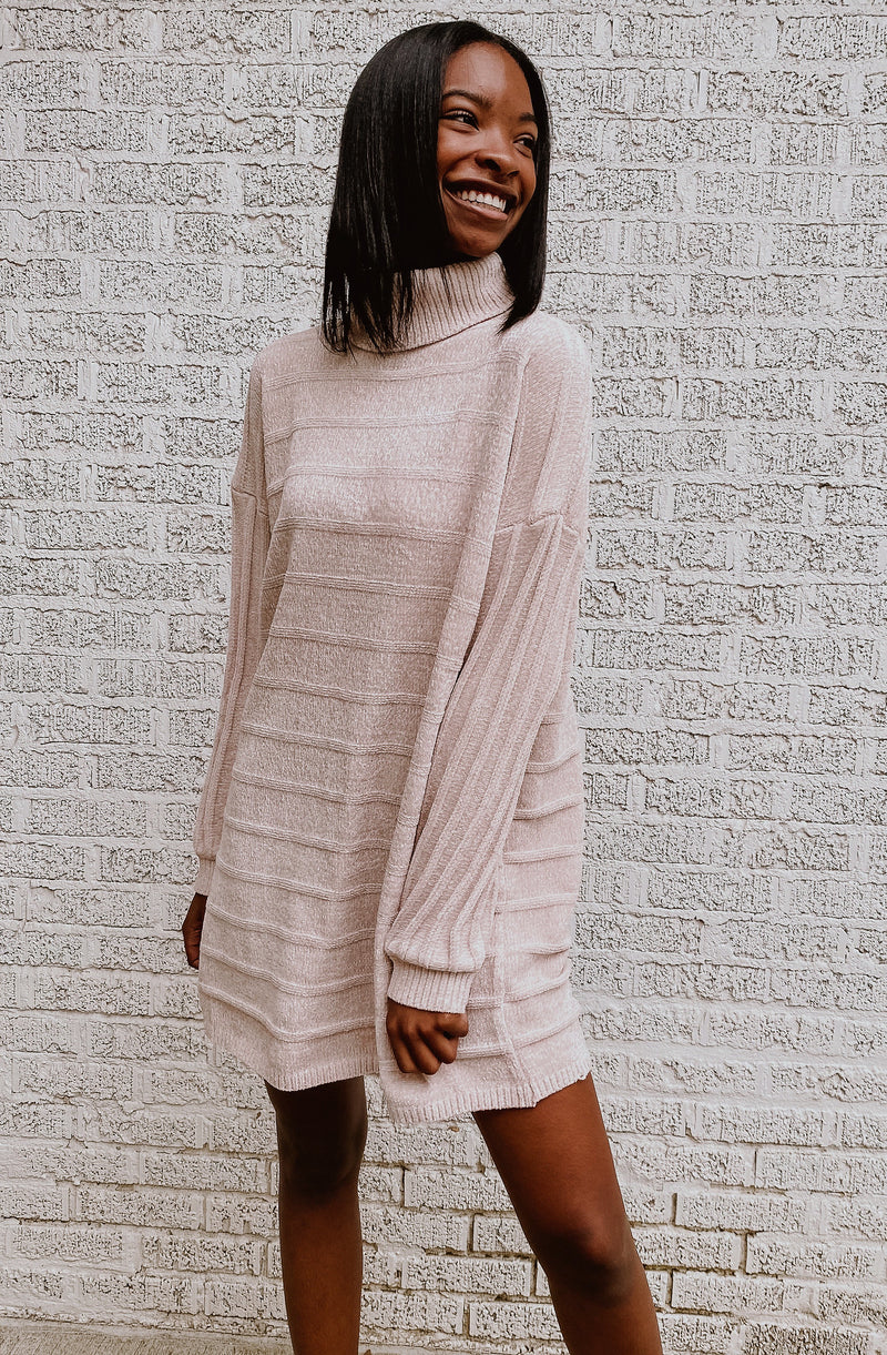 EMBRACE IT SWEATER DRESS