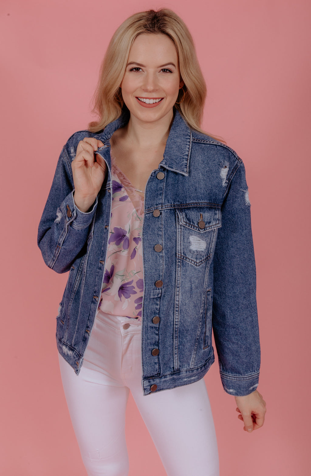 FLY GIRL DENIM JACKET