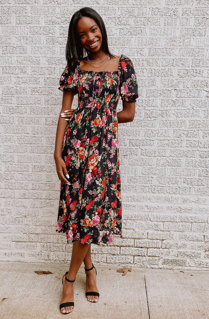 NOTHING BUD FLOWERS DRESS