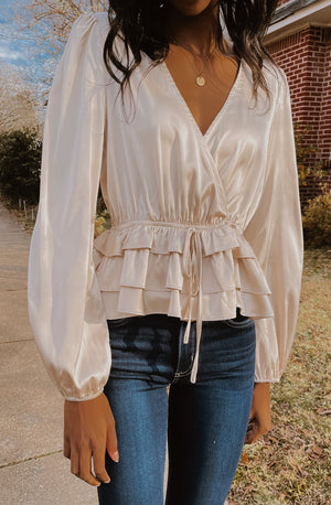 MEET ME IN THE GARDEN BLOUSE