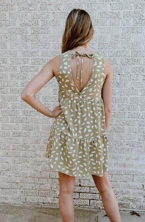 PETALS IN THE WIND MINI DRESS
